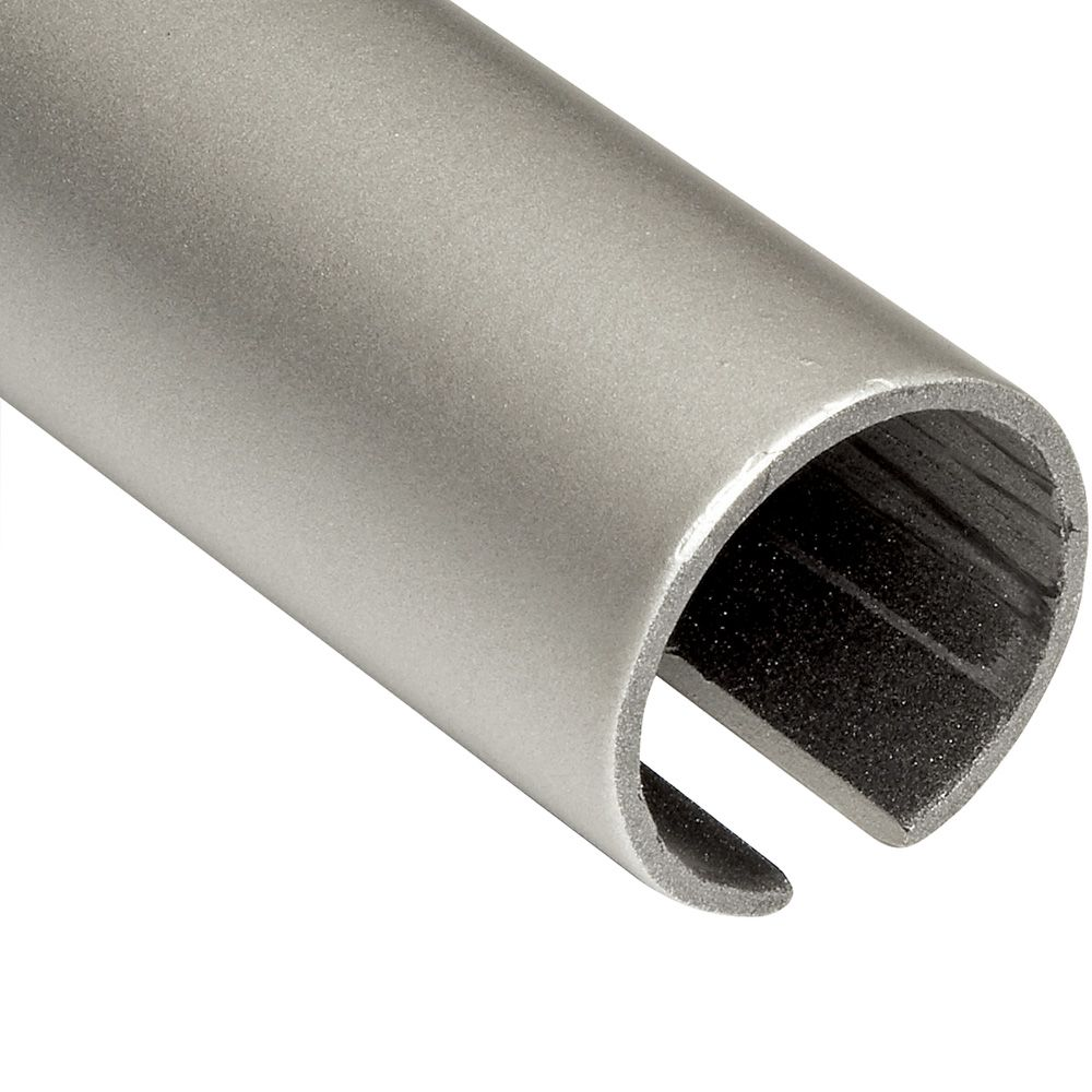 Rockler Classic Satin Nickel Rolling Library Track