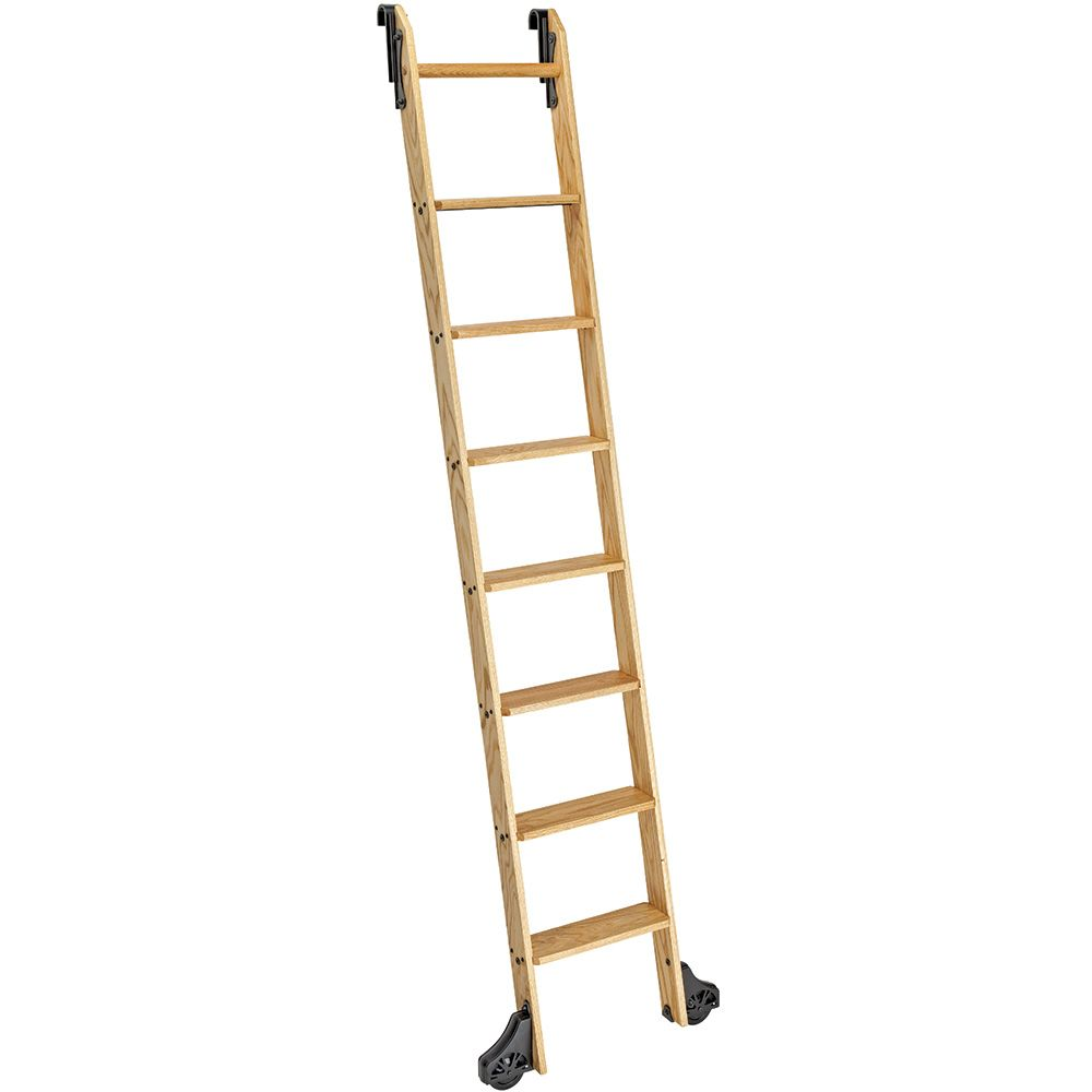 9 Rockler Exclusive Classic Wood Kits For Rolling Library Ladders