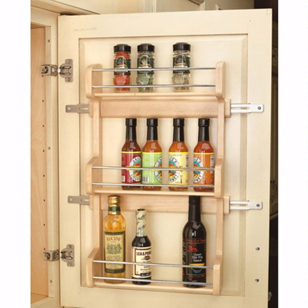 Door Mount Spice Racks Rev A Shelf 4sr Series Rockler