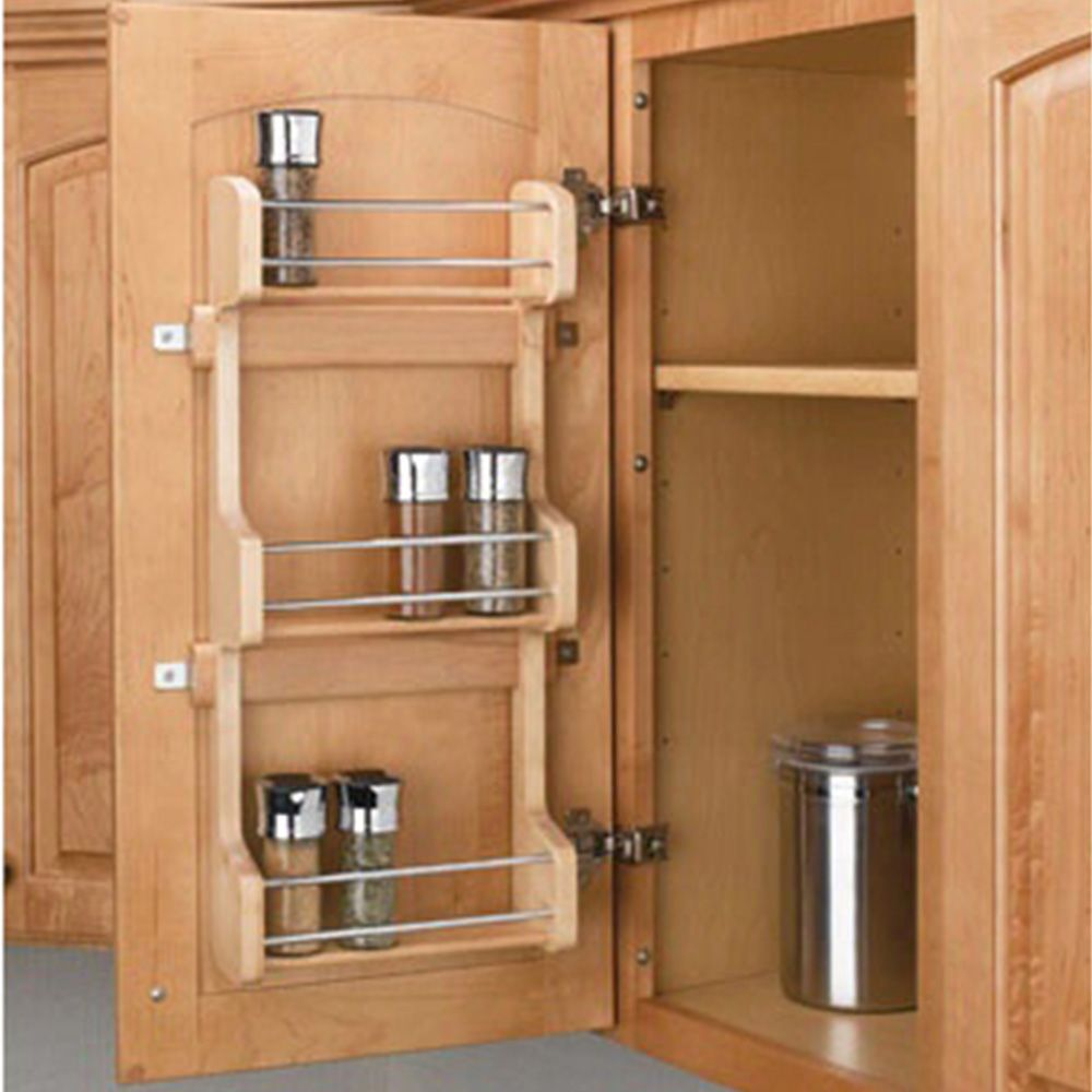 Door Mount Spice Racks, Rev-a-Shelf 4SR Series