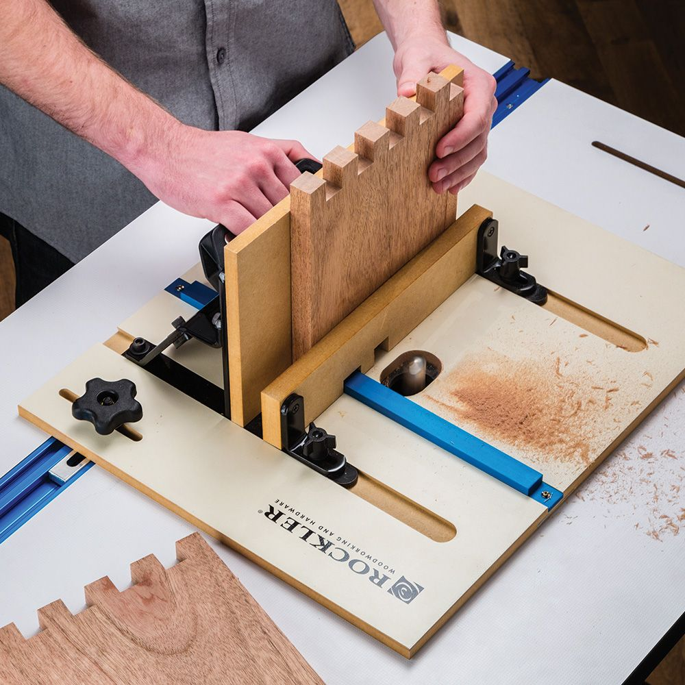 Rockler XL Router Table Box Joint Jig | Rockler ...