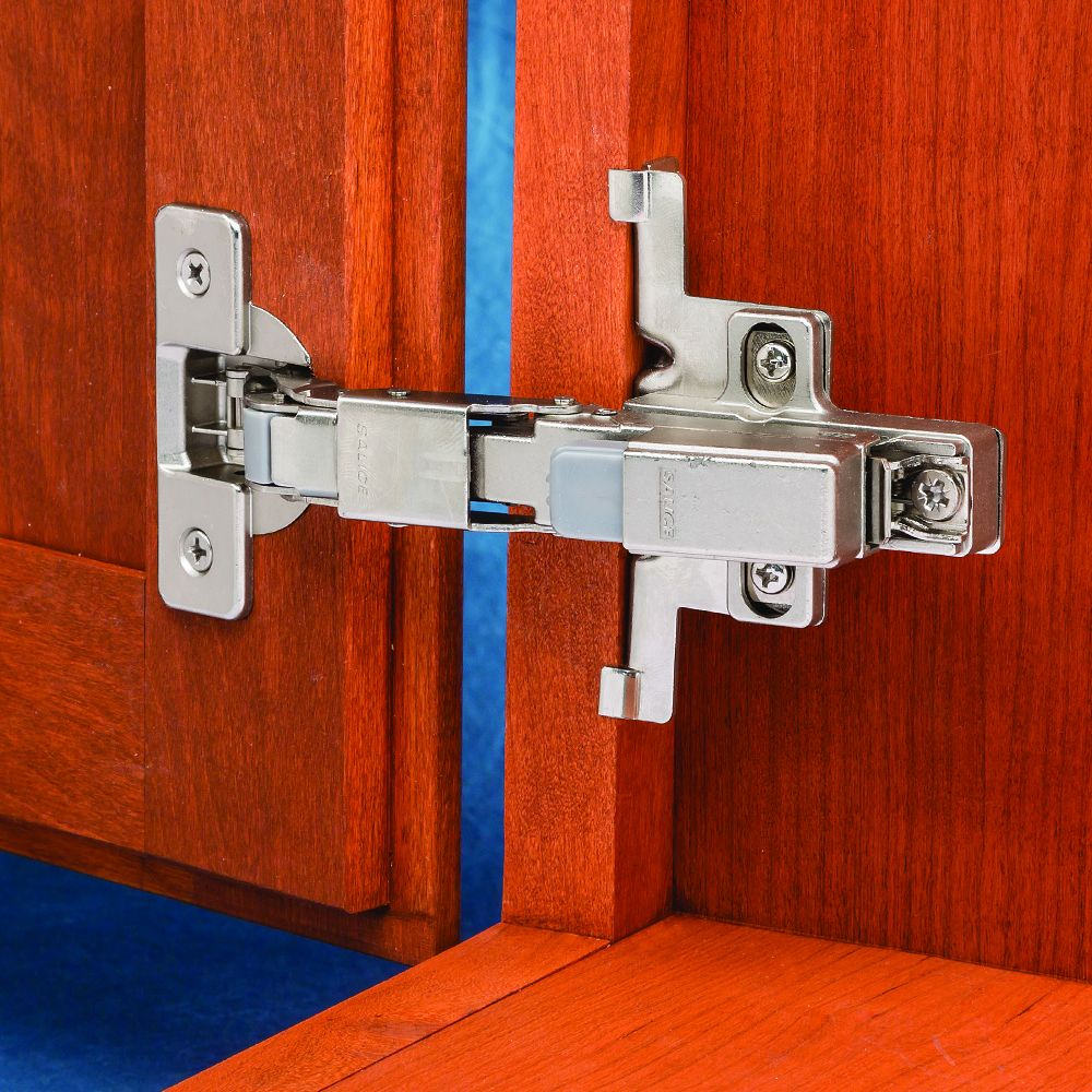 Soft Closing Kitchen Cabinet Hinges: Salice Soft-Close 110 3/8'' Rabbeted Door Hinges