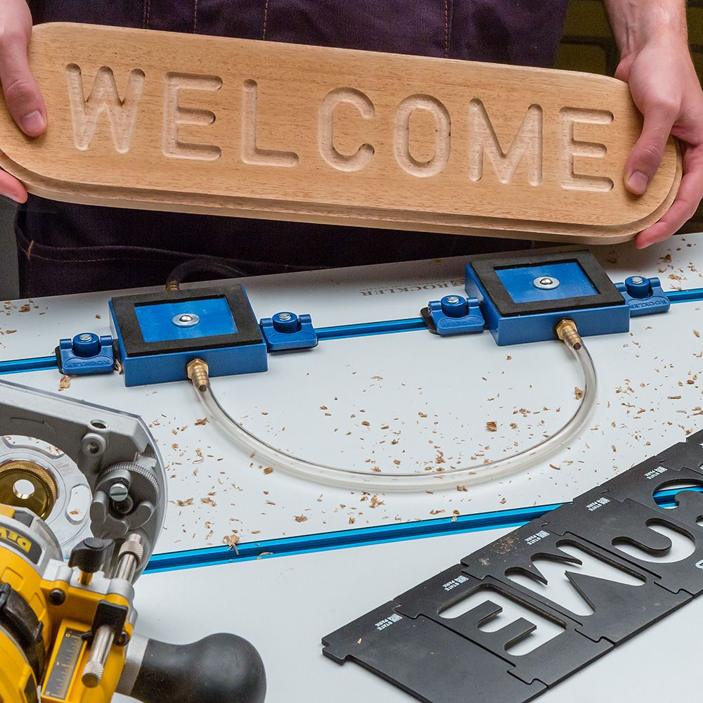 Rockler Vacuum Clamp Pod Kit Rockler Woodworking And
