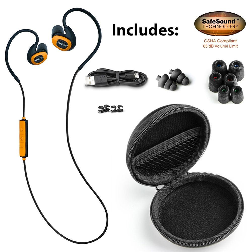 7adf1c55199 ISOtunes® Pro Noise-Isolating Bluetooth® Earbuds, 27 dB NRR