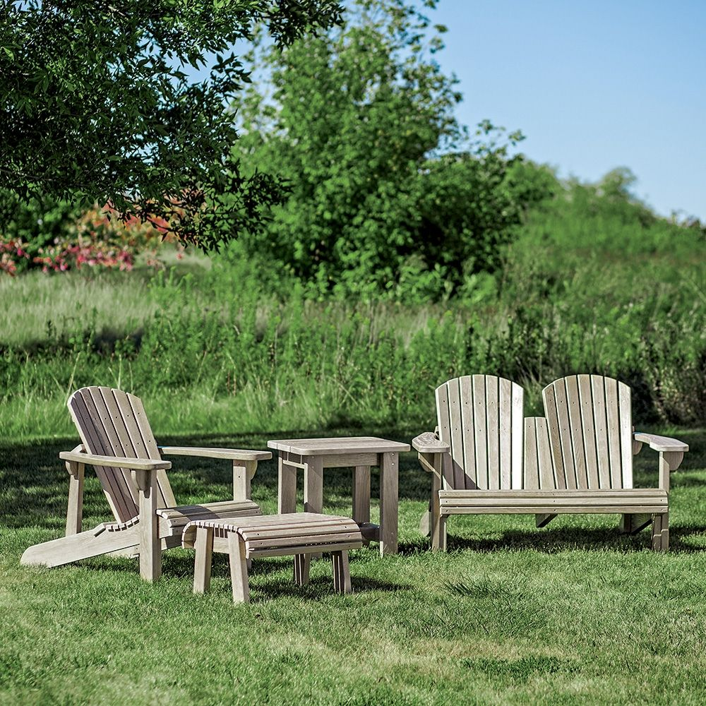 Adirondack Chair Plans Free Templates: Adirondack Chair Plans And Templates With Foot Stool/Side