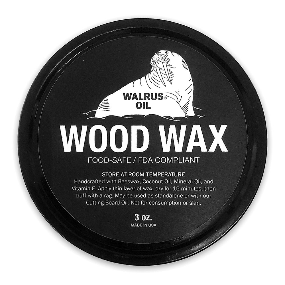 Walrus Oil Wood Wax 3 Oz Rockler Woodworking And Hardware