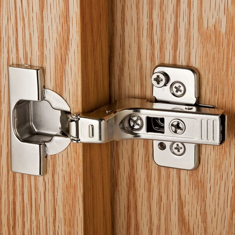 Frameless Kitchen Cabinet Woodworking Plans: Blum® 95° Thick Door Clip Top Frameless Inset Hinges, Pair
