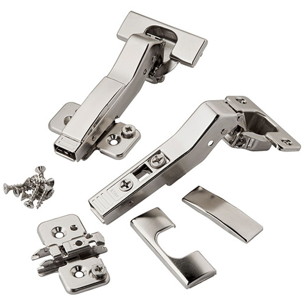 Blum 110 176 Clip Top Cross Corner Hinges Pair Rockler