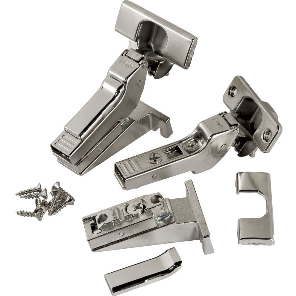 Blum 174 120 176 Inset Clip Top 3 Way Face Frame Hinges Pair