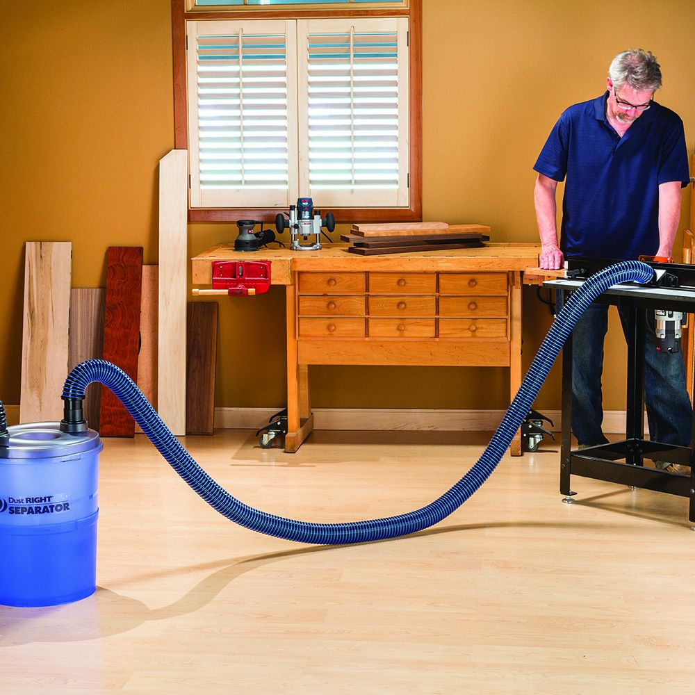 Dust Right 174 2 1 2 Anti Static Dust Hose Rockler