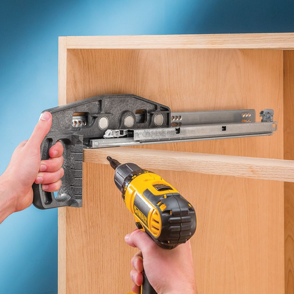 Rockler Undermount Drawer Slide Jig Rockler Woodworking And Hardware