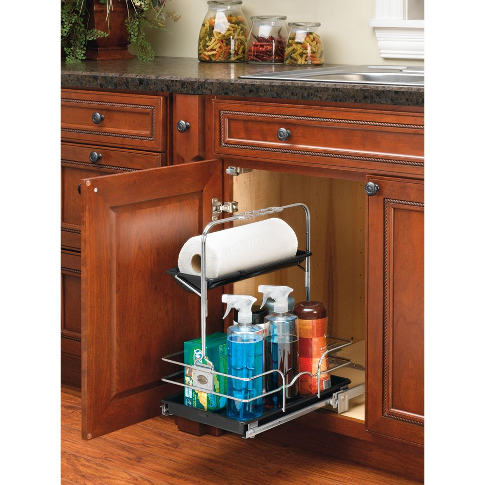 Cleaning Just Got Easier With Rev A Shelf S Caddy