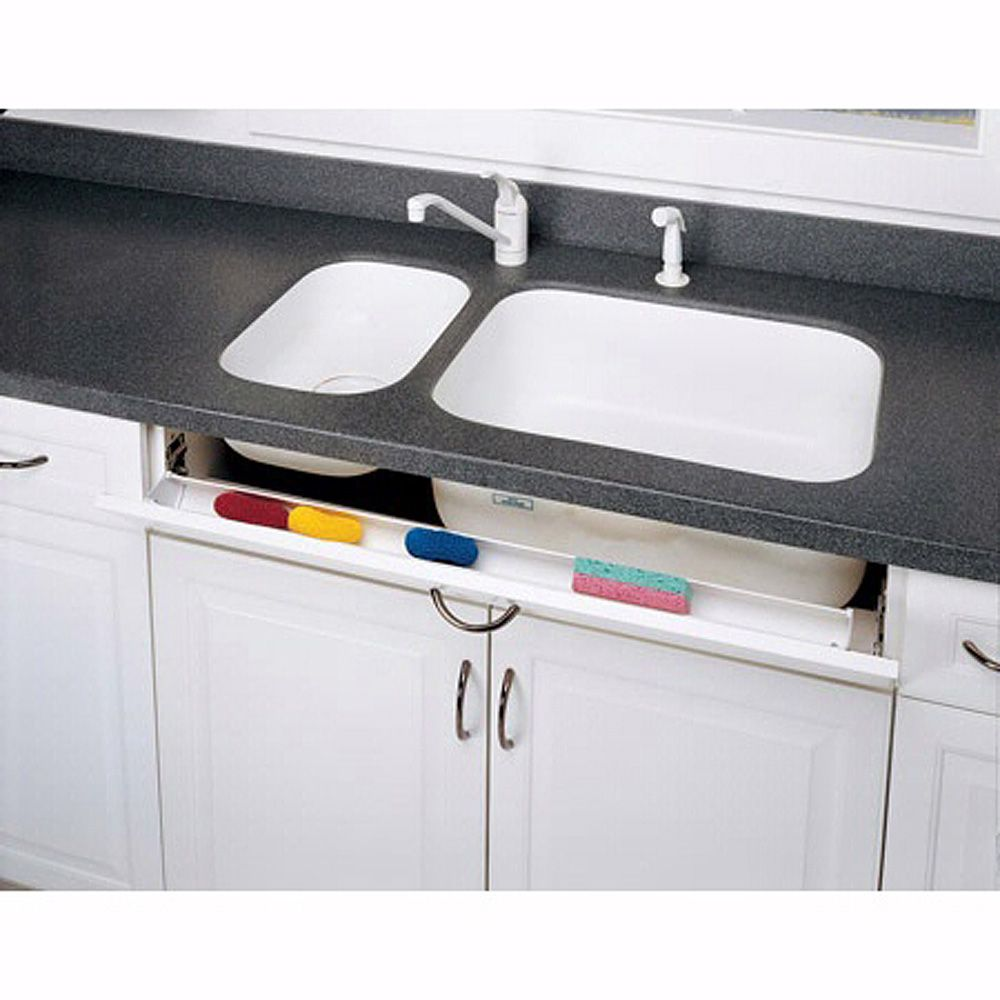 Euro Hinged Tip Out Sink Front Tray Kit Components Almond 6541 36 15 Eth Rockler Woodworking And Hardware