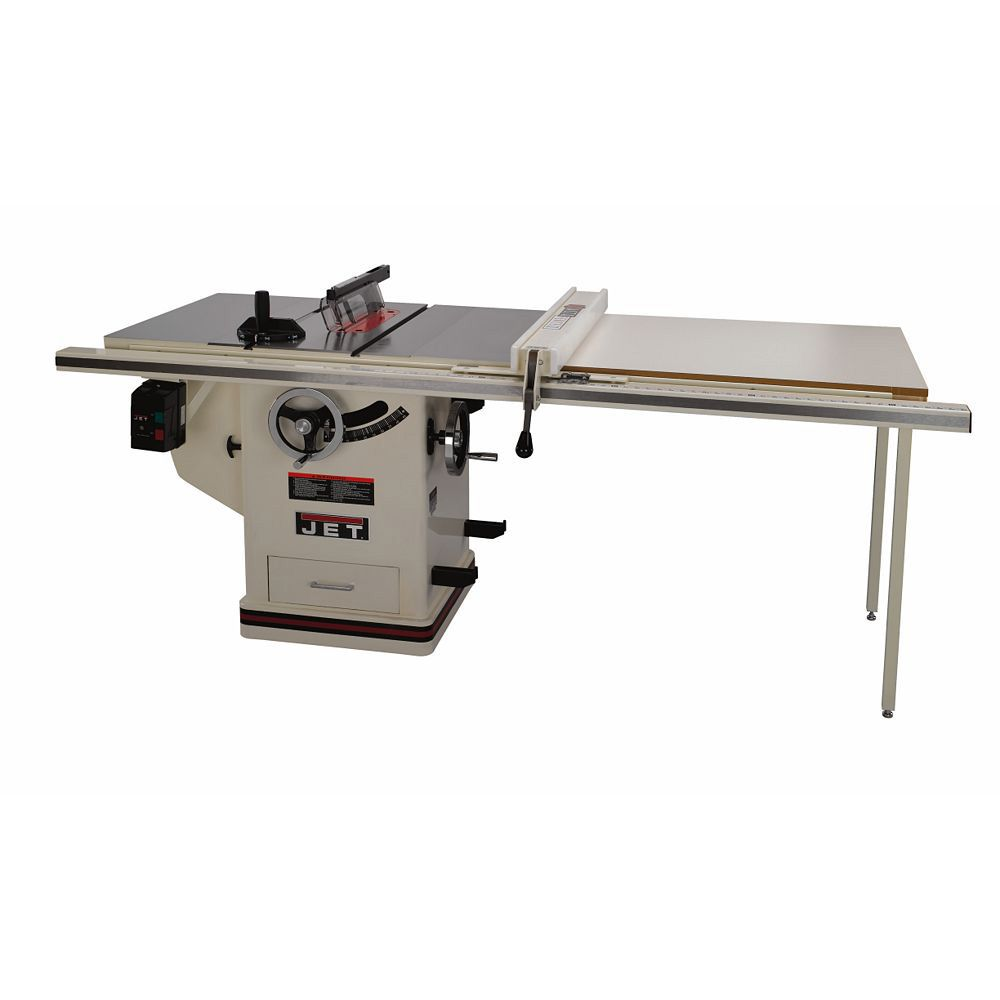 Jet Deluxe Xacta 5hp 10 Quot Table Saw W 50 Quot Fence 708677pk