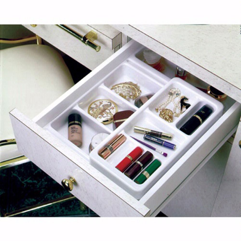 Cosmetic Drawer Organizers Rev A Shelf Cos Cosk Series Base Organizer Rockler Woodworking And