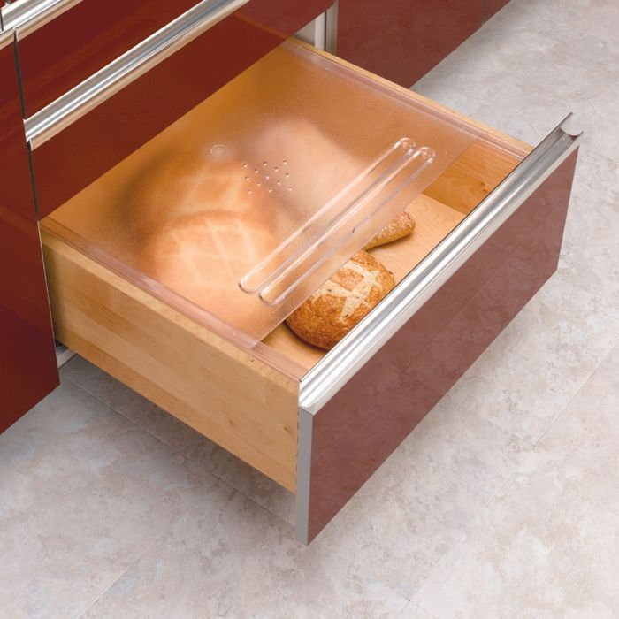 "Kitchen Cabinet Drawer Kits: Bread Drawer Kits, Rev-a-Shelf BDC Series-20-1/8"" Wide"