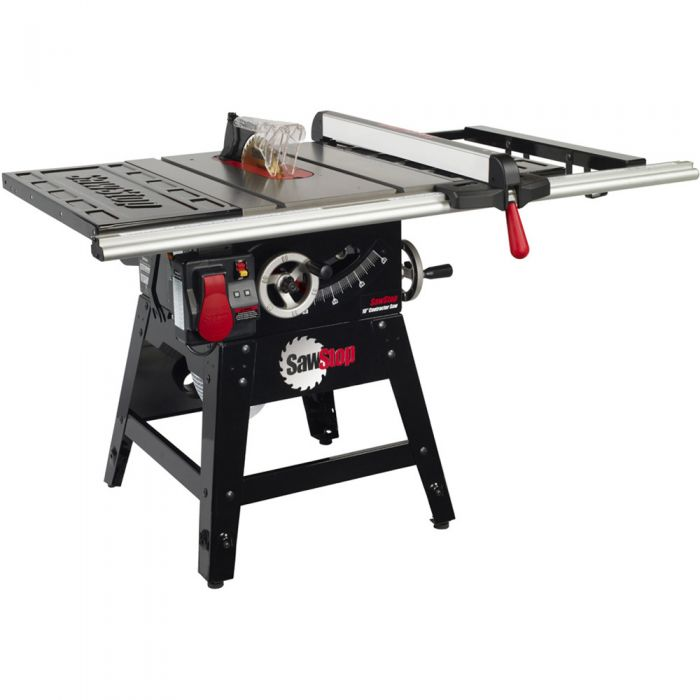 Sawstop Contractor Table Saw W 30 Fence Cns175 Sfa30