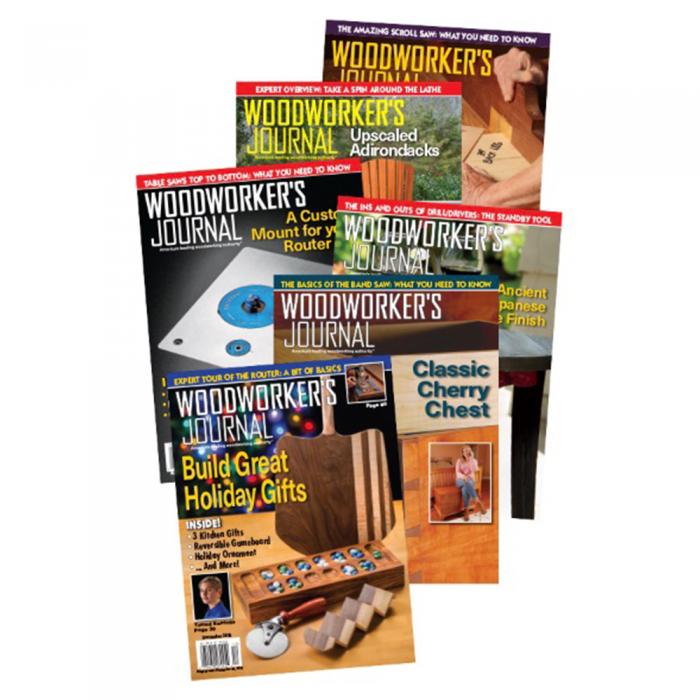 1 Year Subscription To Woodworker S Journal Magazine
