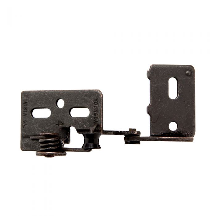Snap Closing 3/8'' Offset Semi-Concealed Hinges - Oil-Rubbed Bronze (pair)