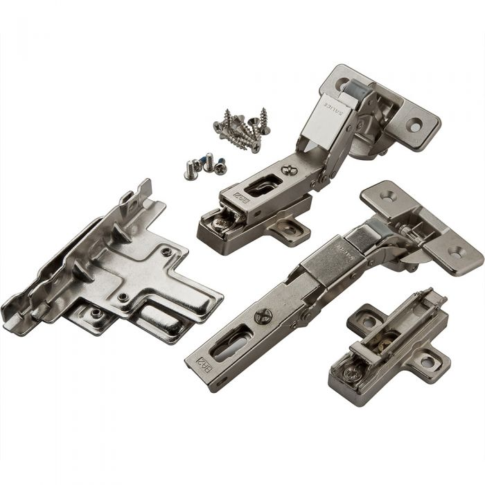 8 Includes Screws//Fits Perfectly Quality Garage Door Parts One Free E-Book Hinges only Garage Door Deluxe Decorative Hardware Kit -