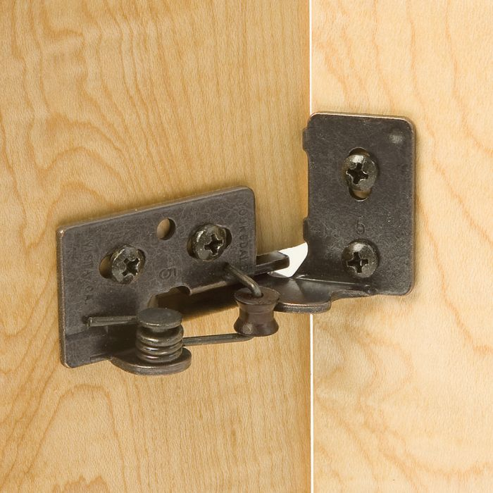 Snap-Closing Semi-Concealed Hinges - For 1/4