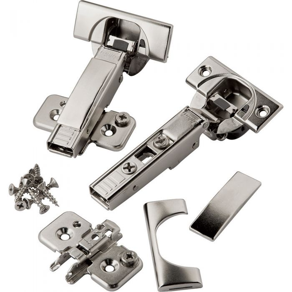 Genuine blum  4 x 110 Full  Soft close Hinges//back Plates//Screws
