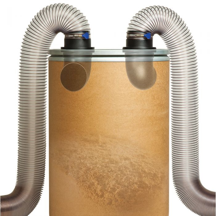 Dust Right® 4'' Dust Separator Components, with FREE Downloadable Plan!