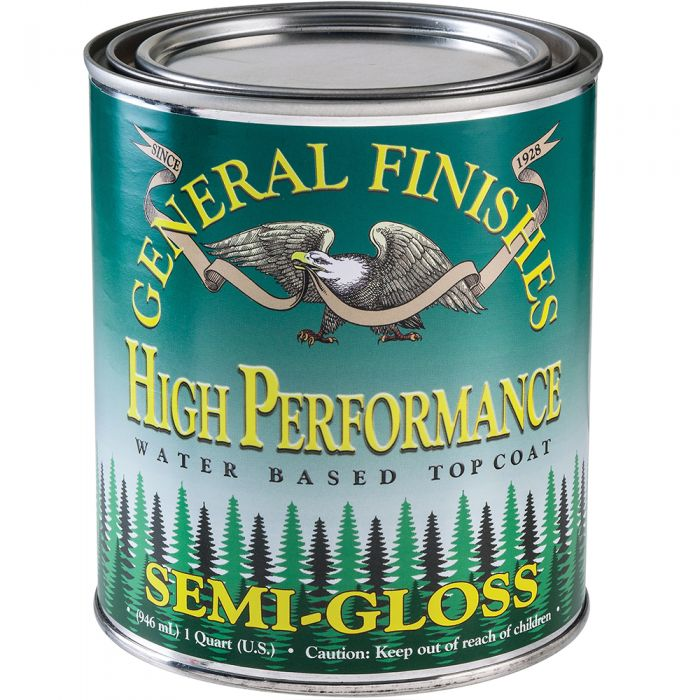 General Finishes High Performance Water-based Top Coat Semi-Gloss