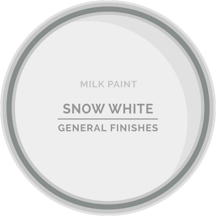 General Finishes Snow White Milk Paint Pint