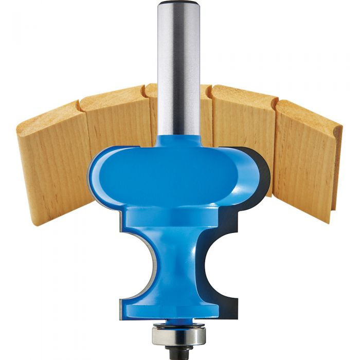 Rockler Bead Cove Canoe Building Router Bits 1 2 Shank