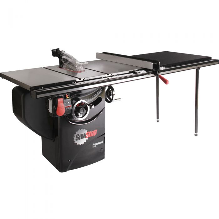 Strange Sawstop 3Hp Professional Table Saw W 52 Fence Rails And Extension Table Home Interior And Landscaping Ologienasavecom
