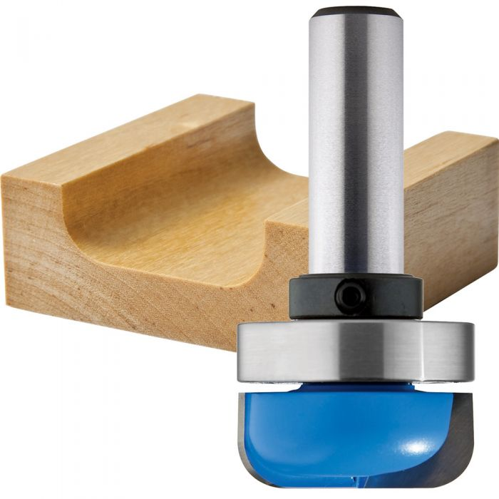 Rockler Dish Carving Router Bit - 1-1/4