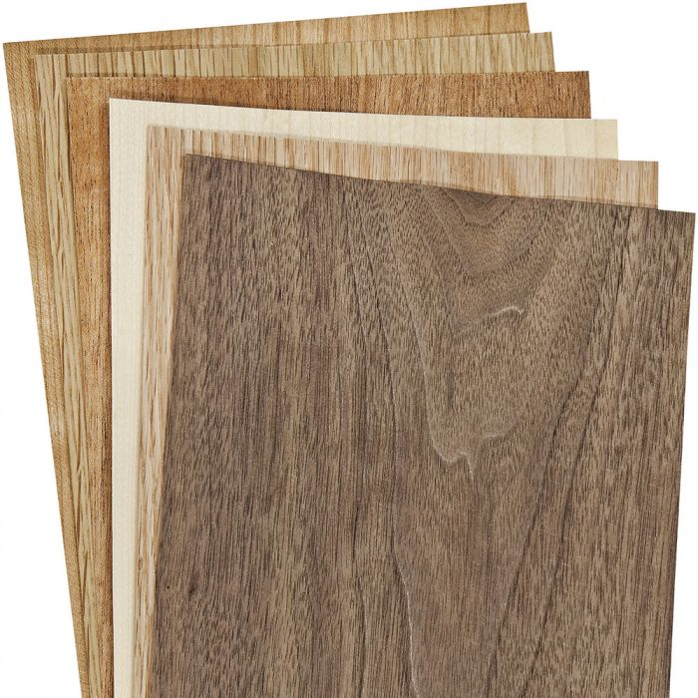 "White Oak Wood Veneer 4 Sheets 1//16"" Thickness. 29"" X 10"" 8 Sq Ft"