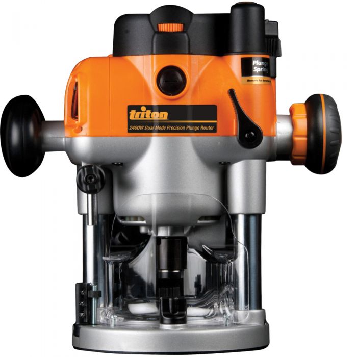 Triton 3 1 4 Hp Dual Mode Plunge Router