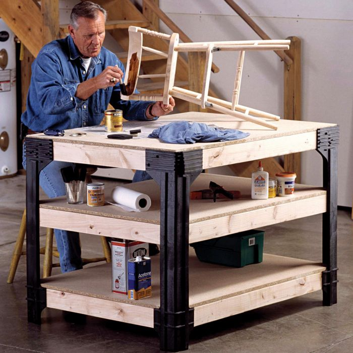 Phenomenal Workbench Leg Kit Caraccident5 Cool Chair Designs And Ideas Caraccident5Info