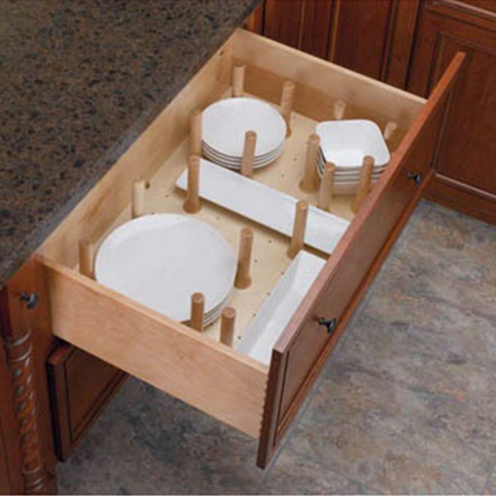 Peg System Kitchen Drawer Organizer