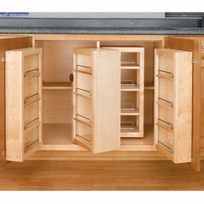 Swing Out Complete Pantry System Rev A Shelf 4w Series Door