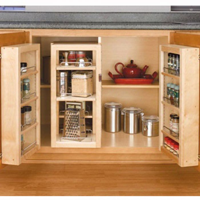 Swing Out Complete Pantry System Rev A Shelf 4w Series Door Mount Single Units