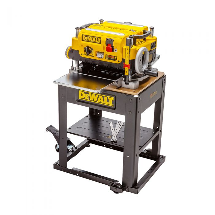 DeWalt DW735x 13'' 2-Speed Planer includes Knives, Table and Stand