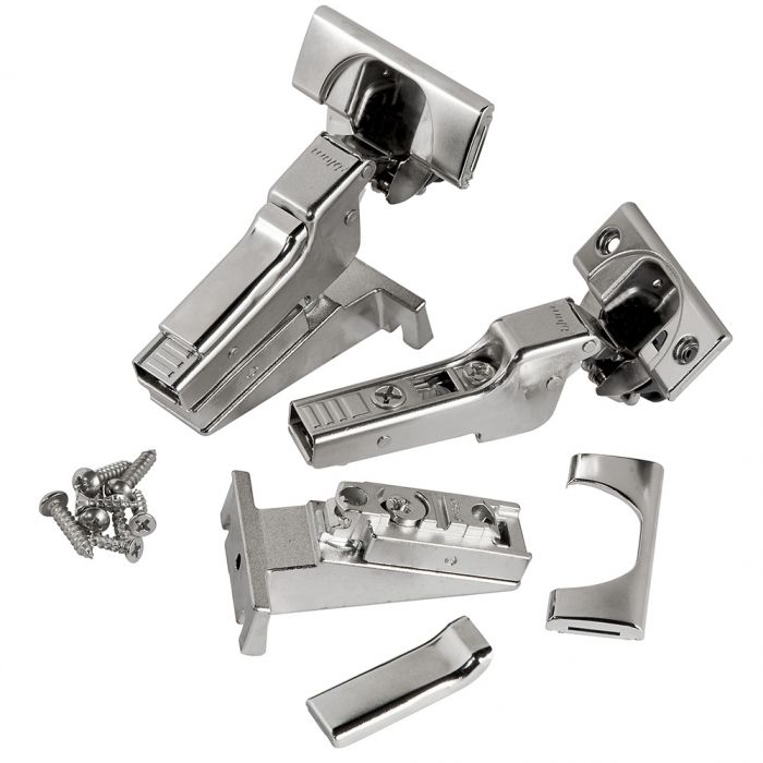 Blum Free-Swinging 110° Clip Top Hinges, Face Frame, Inset