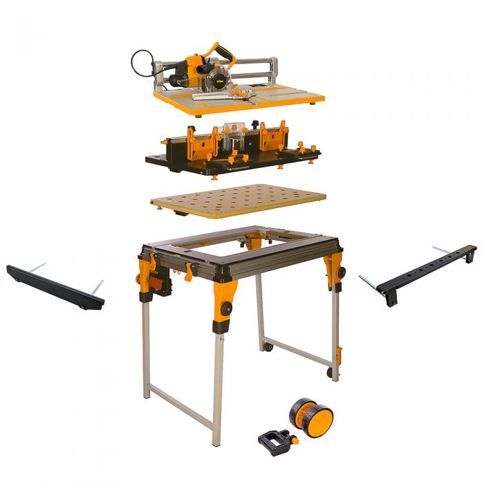 Triton Workcentre Package With Router Table And Project Saw With Free Accessories
