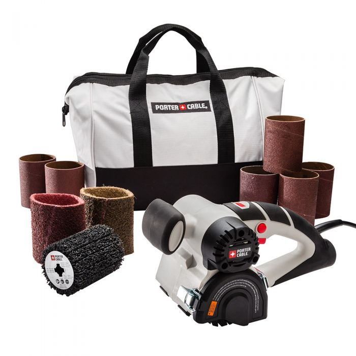 Porter Cable Rer With 9 Piece Accessory Kit And Tool Bag