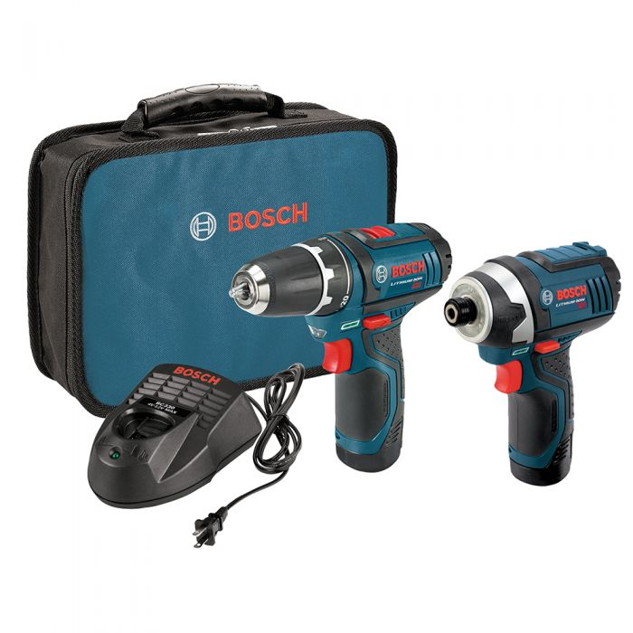 Bosch 12v Max 2 Tool Lithium Ion Cordless Combo Kit Rockler Woodworking And Hardware