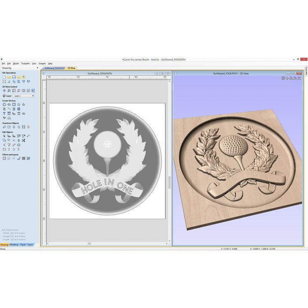 VCarve Pro 9 0 Software for CNC