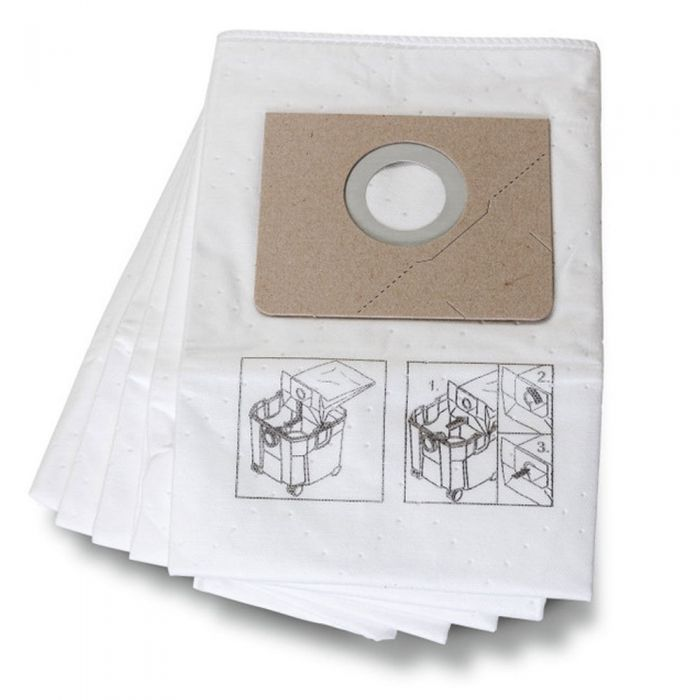 Filter Bags For Fein Turbo Ii 5 Pack