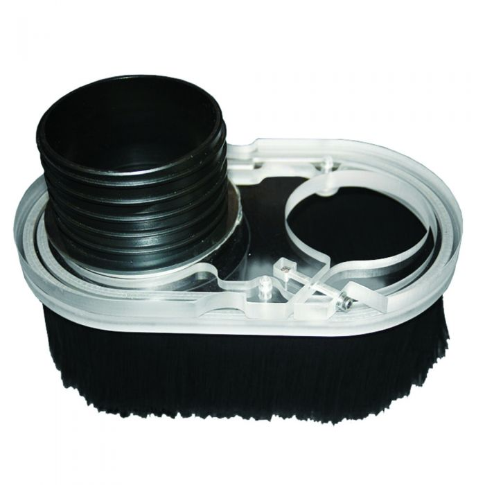 CLEAR ACRYLIC Transparent Dust Shoe Boot for CNC ROUTERS Read Description