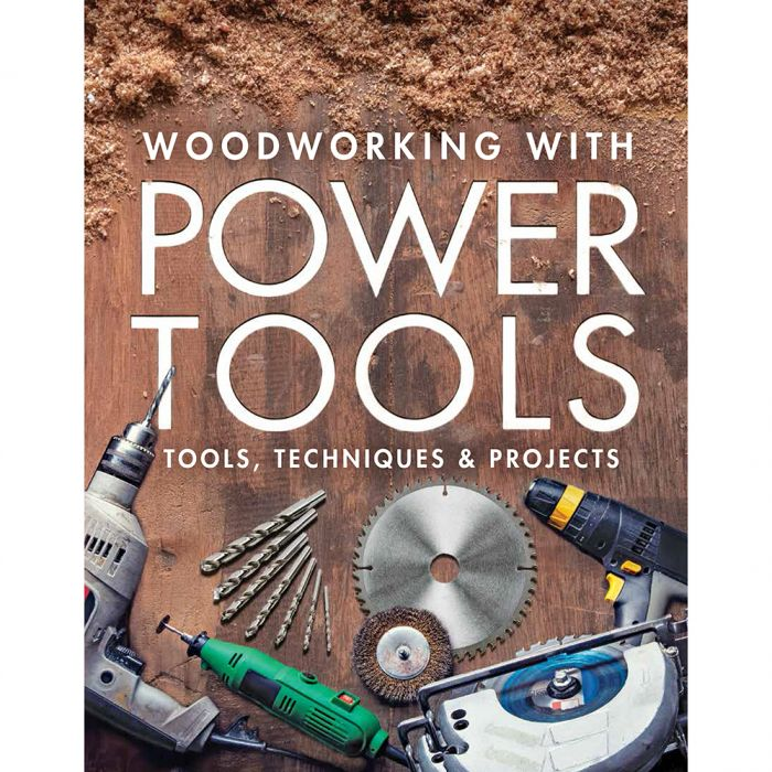 Woodworking With Power Tools Paperback Book