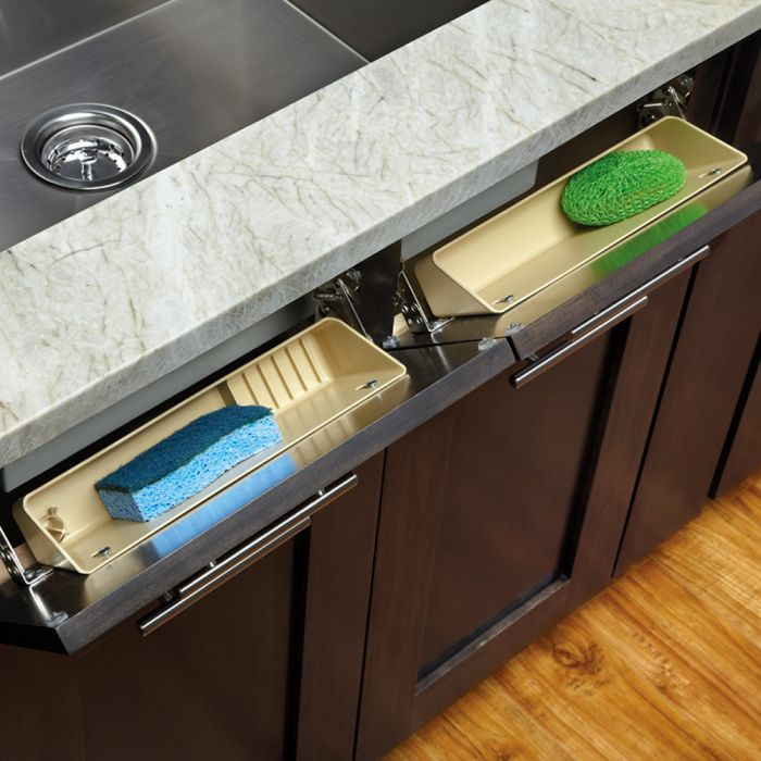 Sink Front Tip Out Tray Rev A Shelf 6572 Series 11 Quot Wide