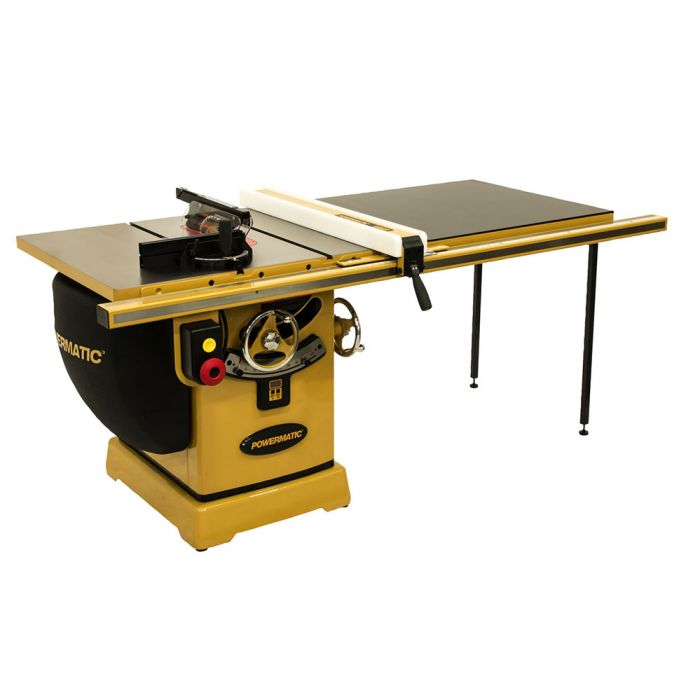 Powermatic PM2000B Table Saw, 3HP 1-Phase 230V, 50'' Rip Accu-Fence