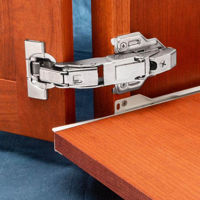 Blum Clip Top 155 Zero Protrusion Hinges Nickel Face Frame 58overlay